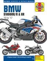 HAYNES 6400 BMW S1000R S1000RR S1000XR (2010 - 2017) MOTORBIKE MOTORCYCLE MANUAL